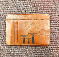 Custom Genuine Leather Card holder 13