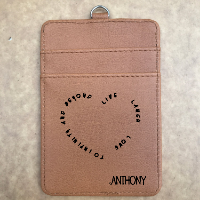 PU leather card holder 13