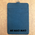 Custom PU leather card holder 15