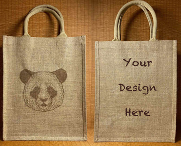 Custom Jute Bag 02 (30x39x15cm)