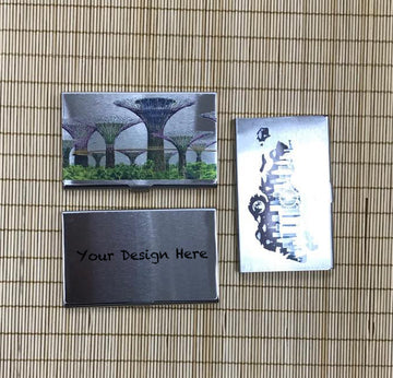 Custom Stainless Steel Name Card Holder 06