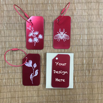 Custom Luggage Tag 26 (2pcs per set)