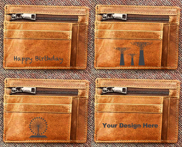 Custom Genuine Leather Card holder 12