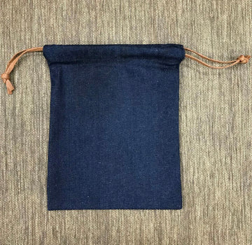 Wholesale denim drawstring bag 103 (19x24cm)