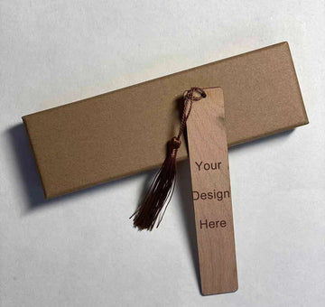 Solid wood bookmark 09