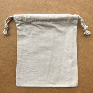 Wholesale canvas drawstring bag 53 (19x24cm)