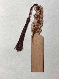 Solid wood bookmark 08