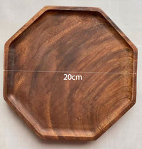 Custom solid wooden tray 18(20x2cm)
