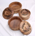 Custom wooden bowl 01