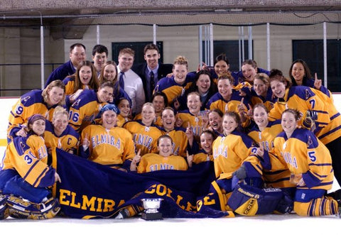 Elmira College Soaring Eagles NCAA Champions Bronwyn Hart-Irwin hockey team women