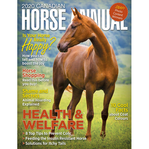 Horse Canada Annual 2020 Jason Irwin article horse trainer The Horse Trainers