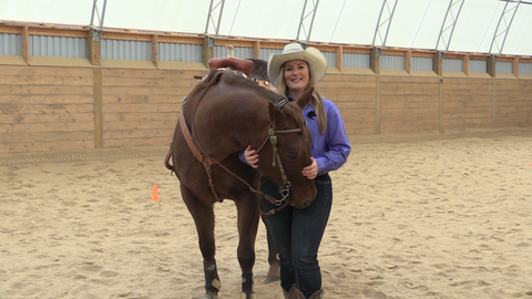 Bronwyn Irwin The Horse Trainers RFD-TV Canada and The Cowboy Channel Canada Barrel Racing Pole Bending
