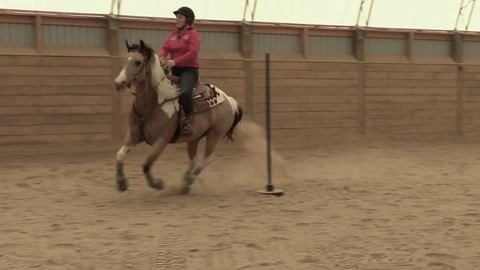 The Horse Trainers The Cowboy Channel Bronwyn Irwin Pole Bending Instructor Rodeo Cowgirl