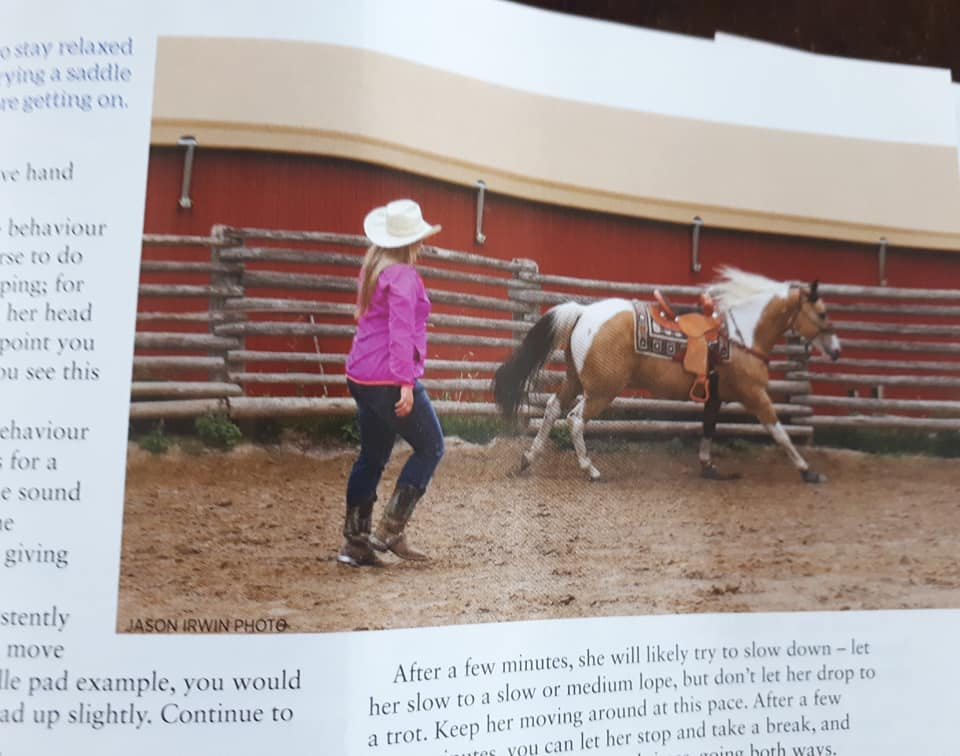Bronwyn and Chief Horse Canada Magazine