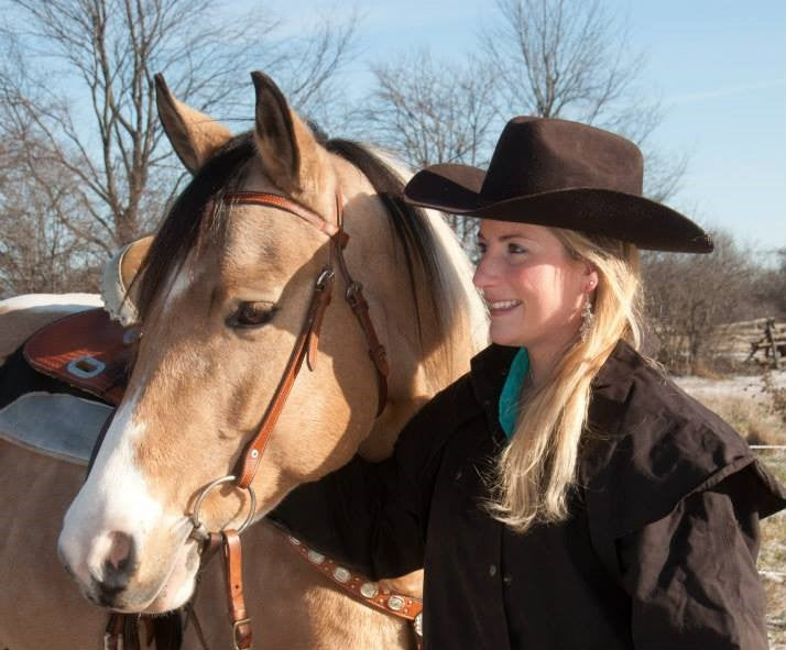 Bronwyn Hart-Irwin horsemanship coaching lessons training cowgirl rodeo Ontario Canada coach horses horseback riding