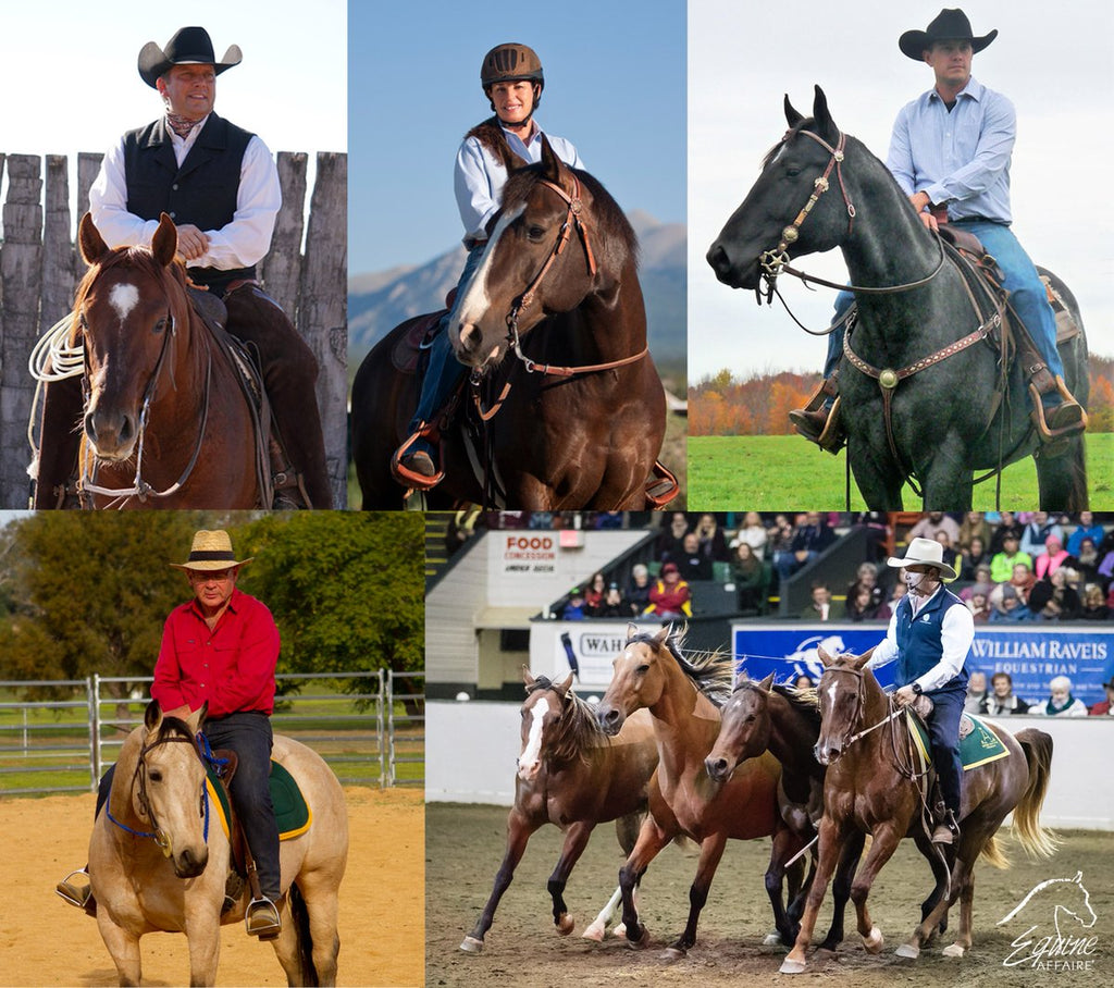 Jason Irwin Equine Affaire presenter clinician coach horses horsemanship english western cowboy