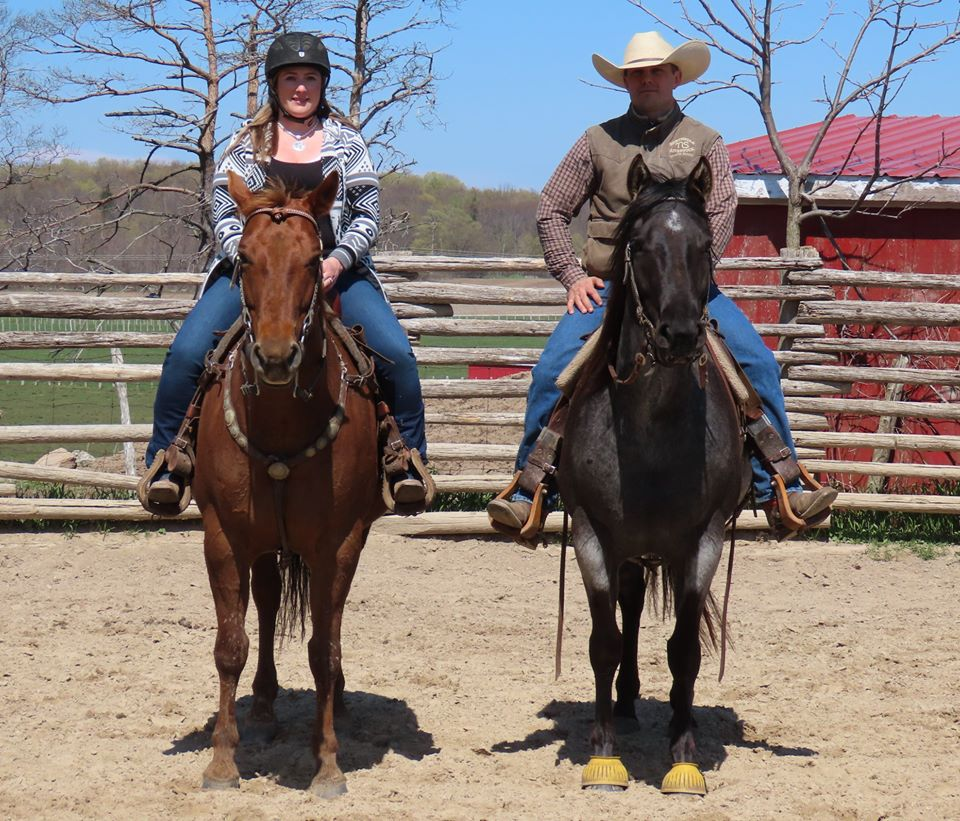 Jason and Bronwyn Irwin Horsemanship Horse Trainers Clinicians