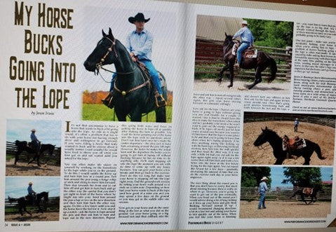 Jason Irwin Performance Horse Digest Magazine Horse training Horsemanship
