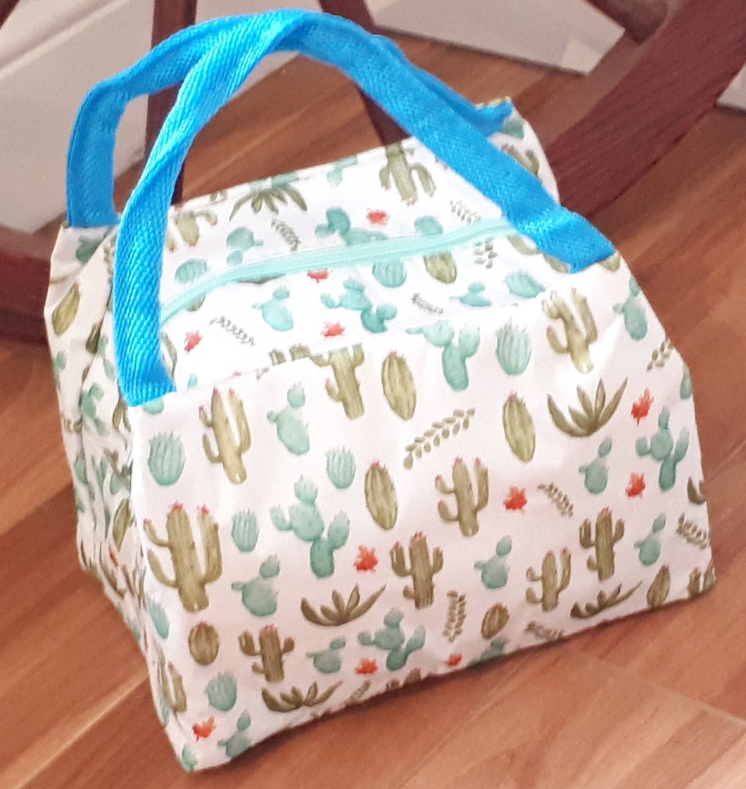 Insulated Lunch Bag -Cactus