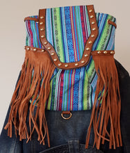 Load image into Gallery viewer, Southwestern Fringe Purse