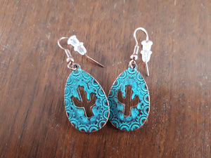 Earrings - Desert Rose