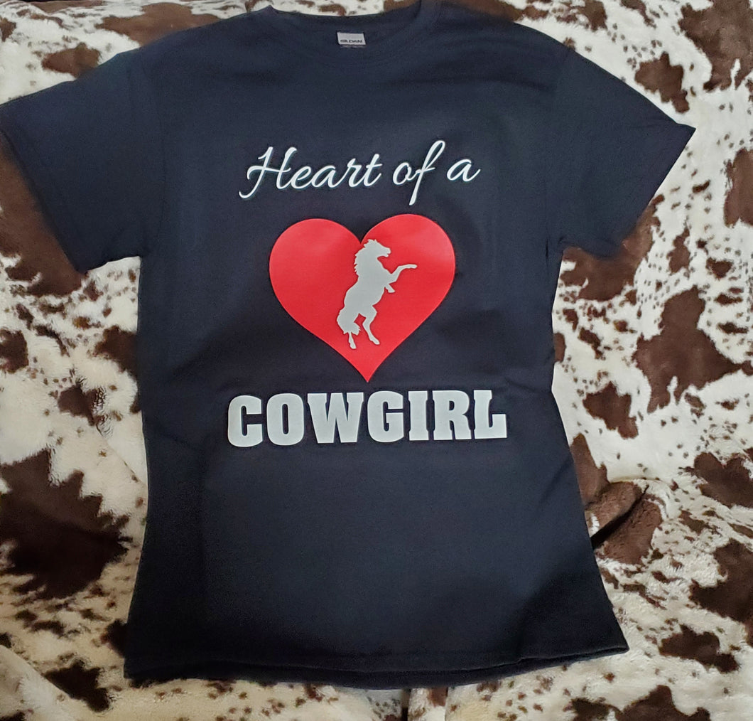 Heart of a Cowgirl T-Shirt