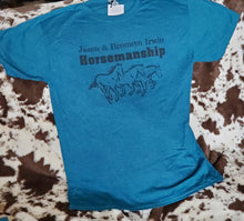 Load image into Gallery viewer, Jason & Bronwyn Irwin Horsemanship T-Shirt
