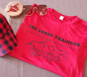 The Horse Trainers Long Sleeve Shirt