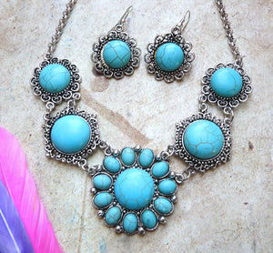 Necklace & Earring Set - Reba