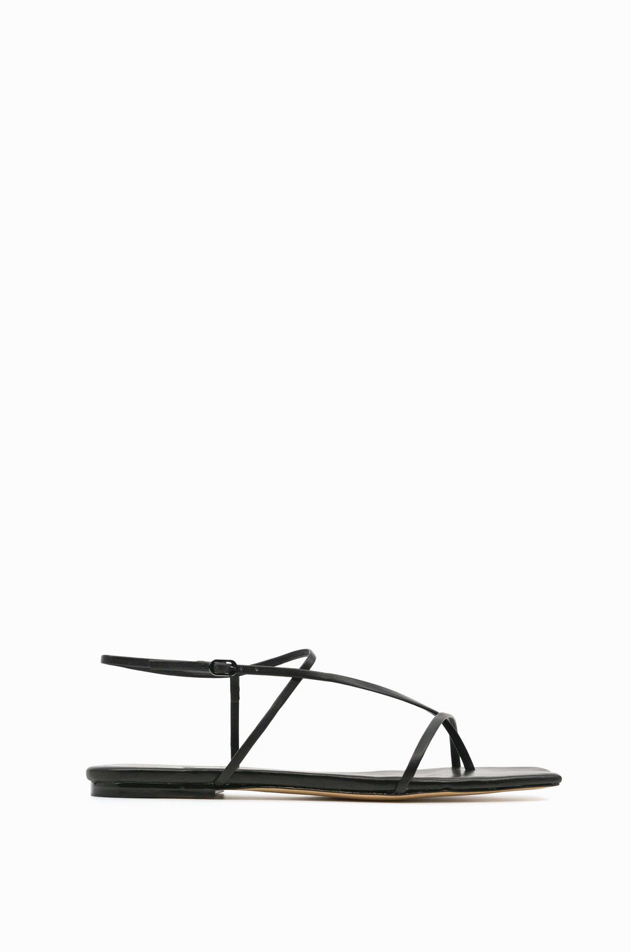 Cross Front 10 Flat | Black