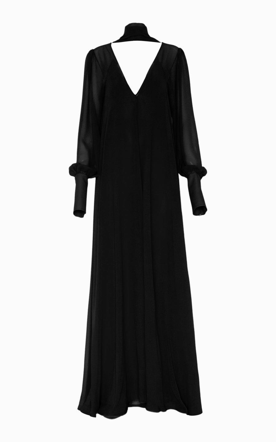 Preorder Eclipse Billow Maxi Dress | Black