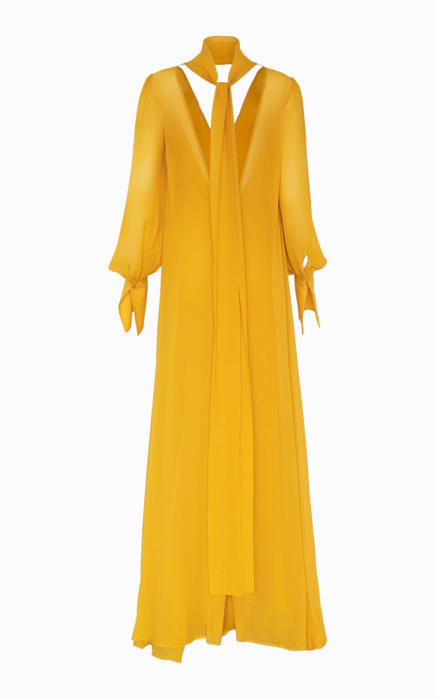 Preorder Eclipse Billow Maxi Dress | Turmeric