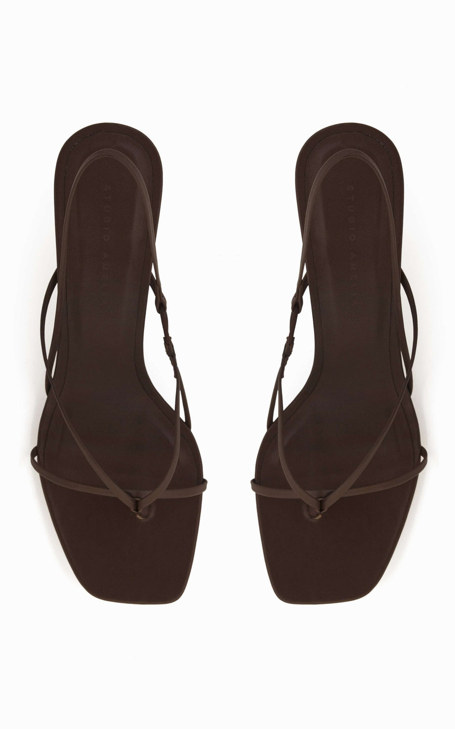Flip Flop 75 Heel | Chocolate