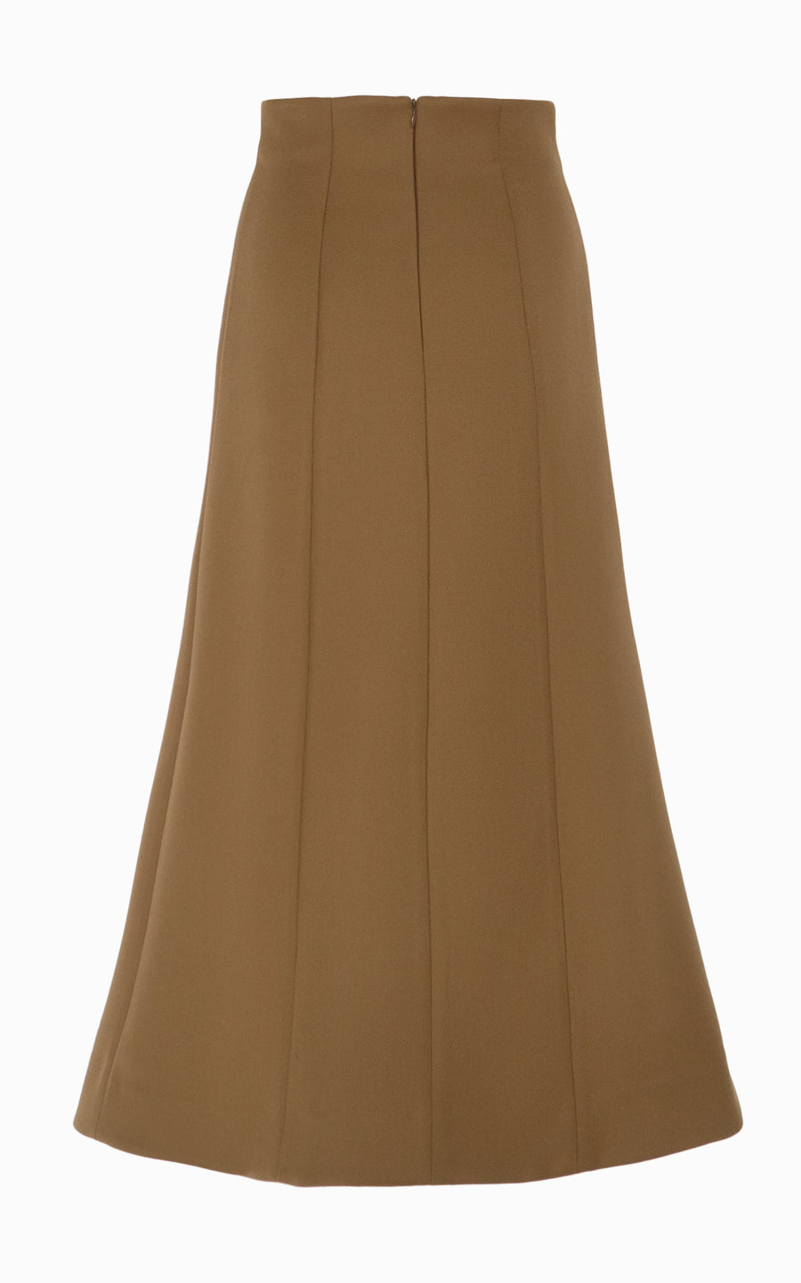 Girdle Midi Skirt | Almond
