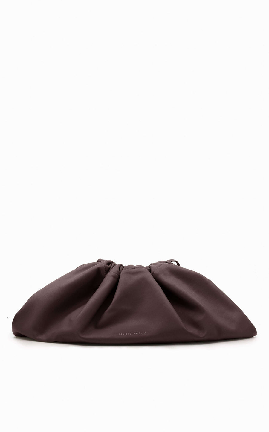 Maxi Drawstring Bag | Chocolate
