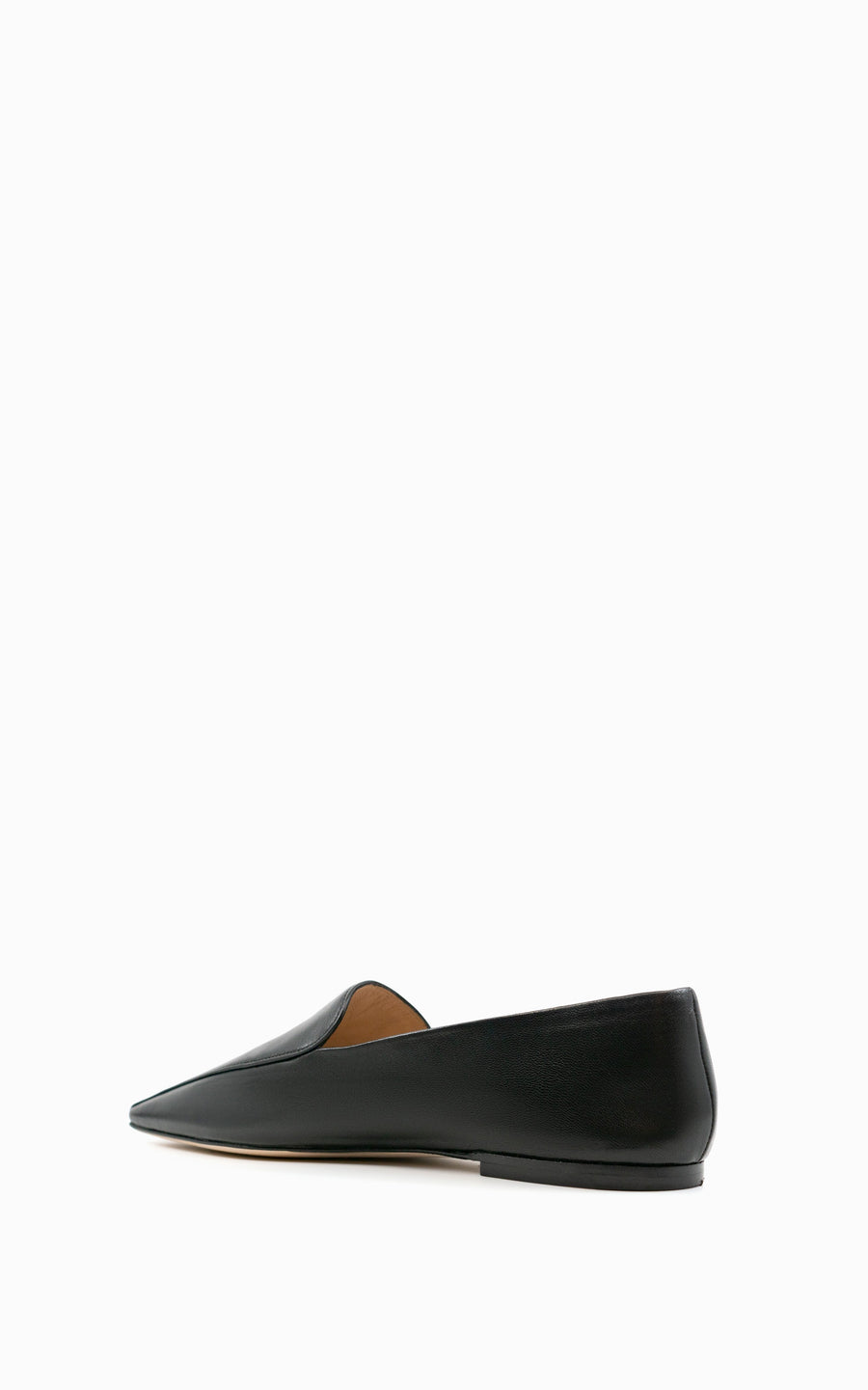 Preorder Squared Soft Loafer | Black