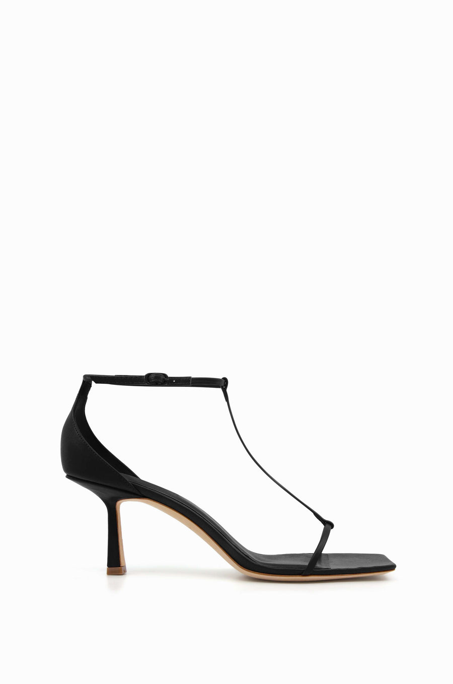 T-Bar 75 Heel | Black