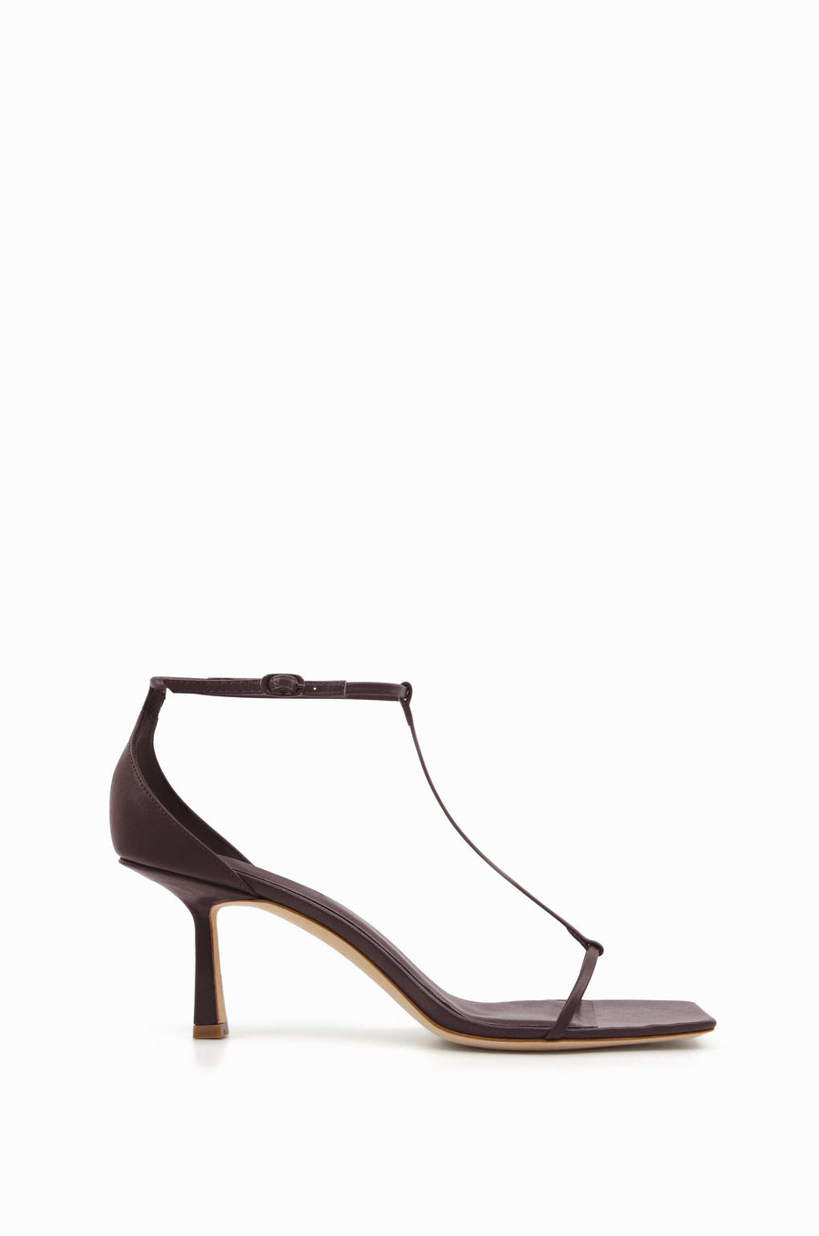 T-Bar 75 Heel | Chocolate