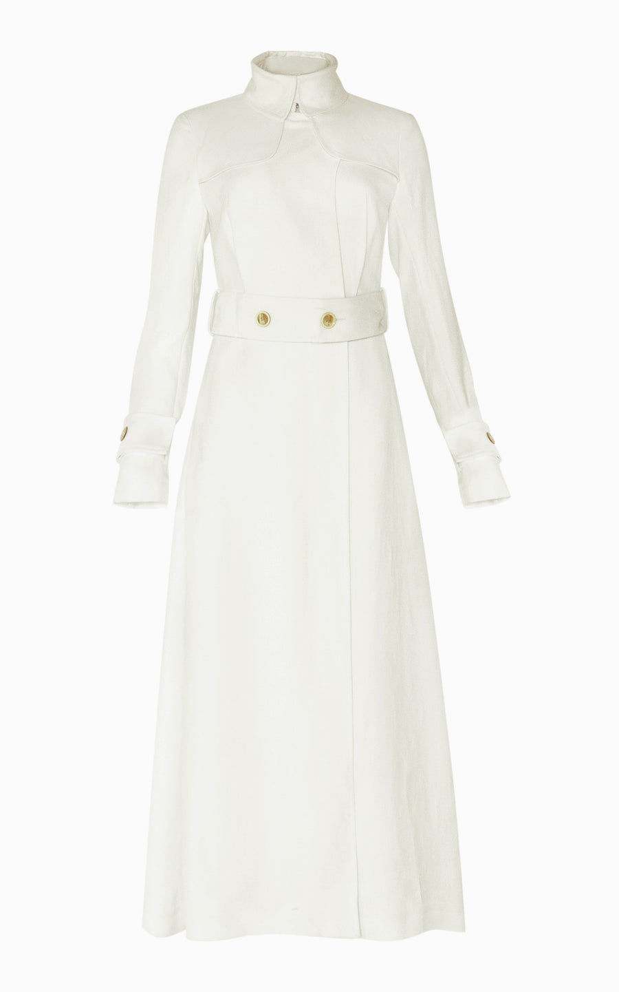 Preorder Marple Dress Coat | Ivory