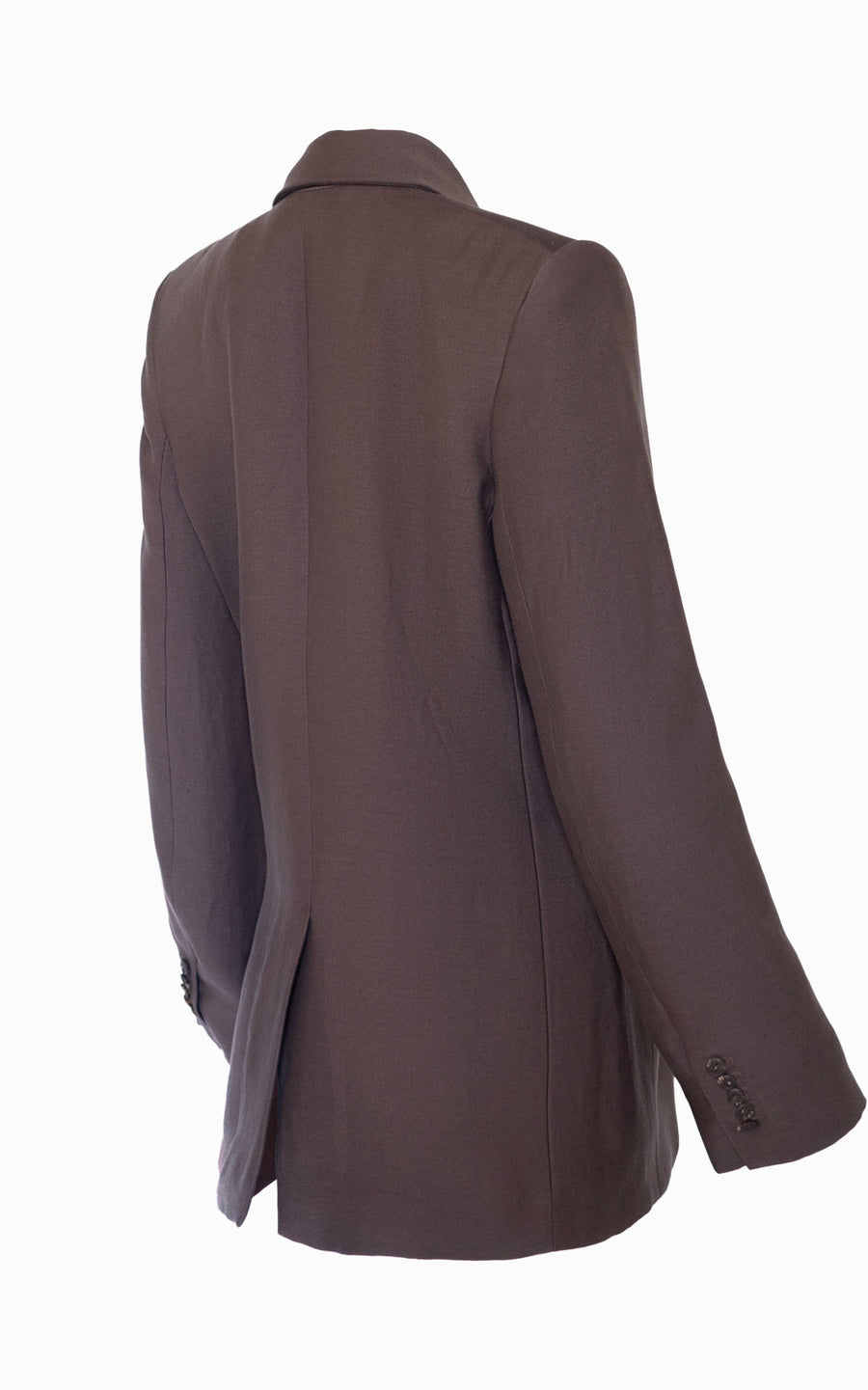 Inverse Lounge Blazer | Chocolate