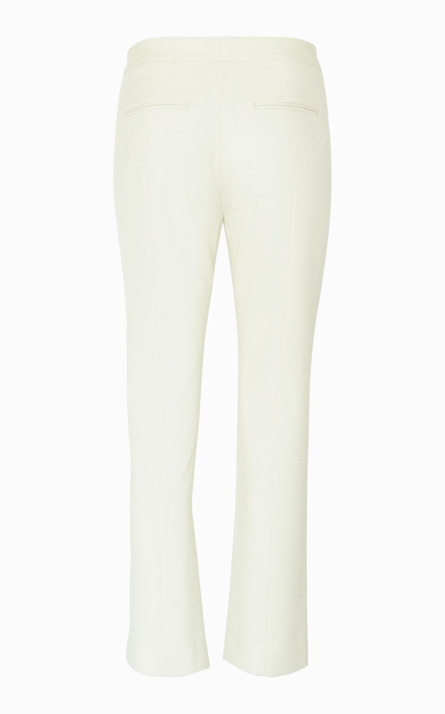 Crop Slim Pant | Bone