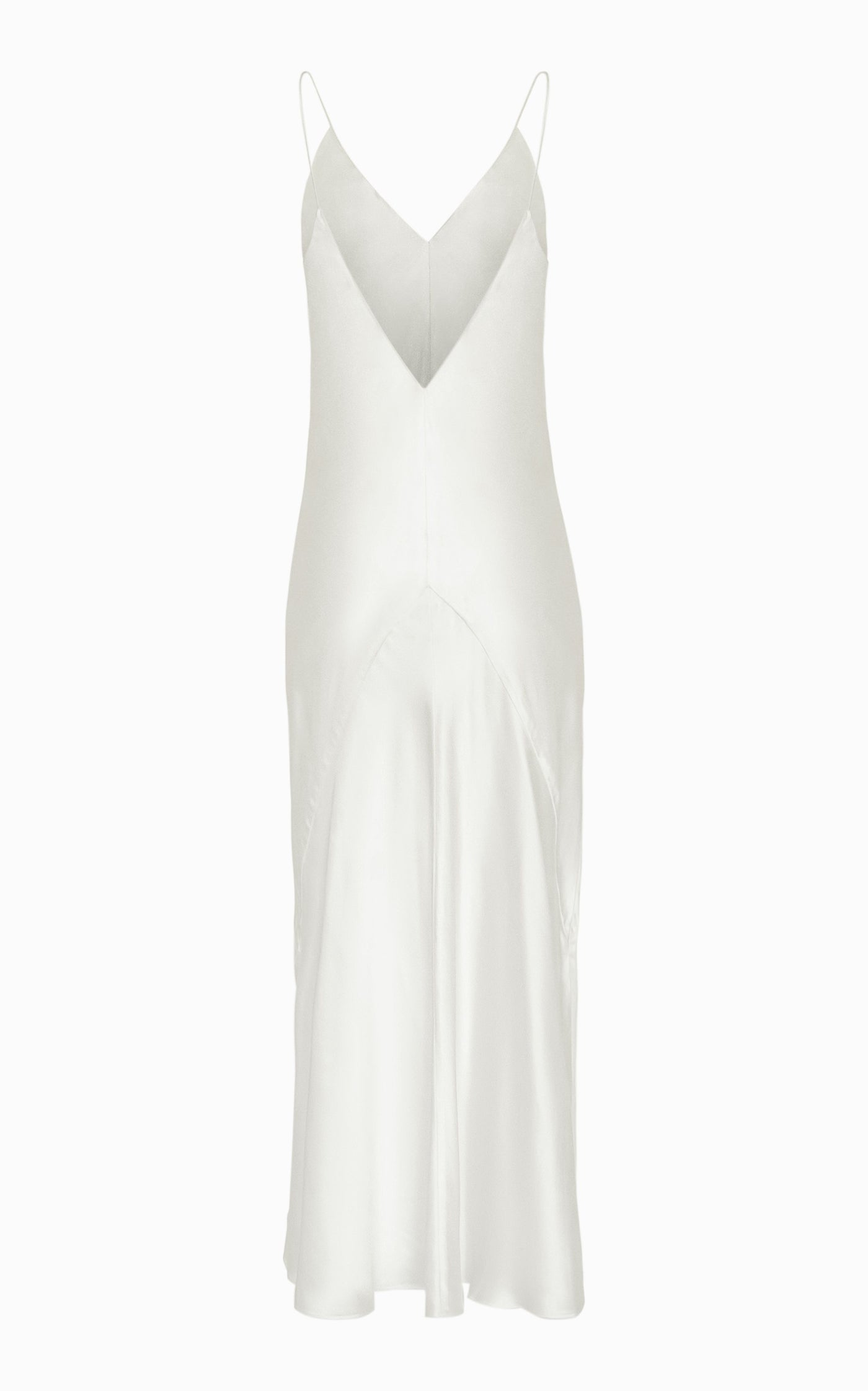 Preorder Liquid Bias Slip Dress | Ivory