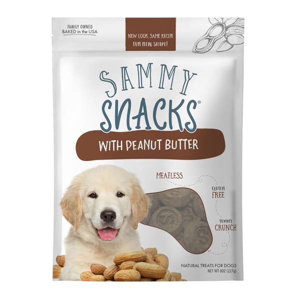 Sammy Snacks With Peanut Butter