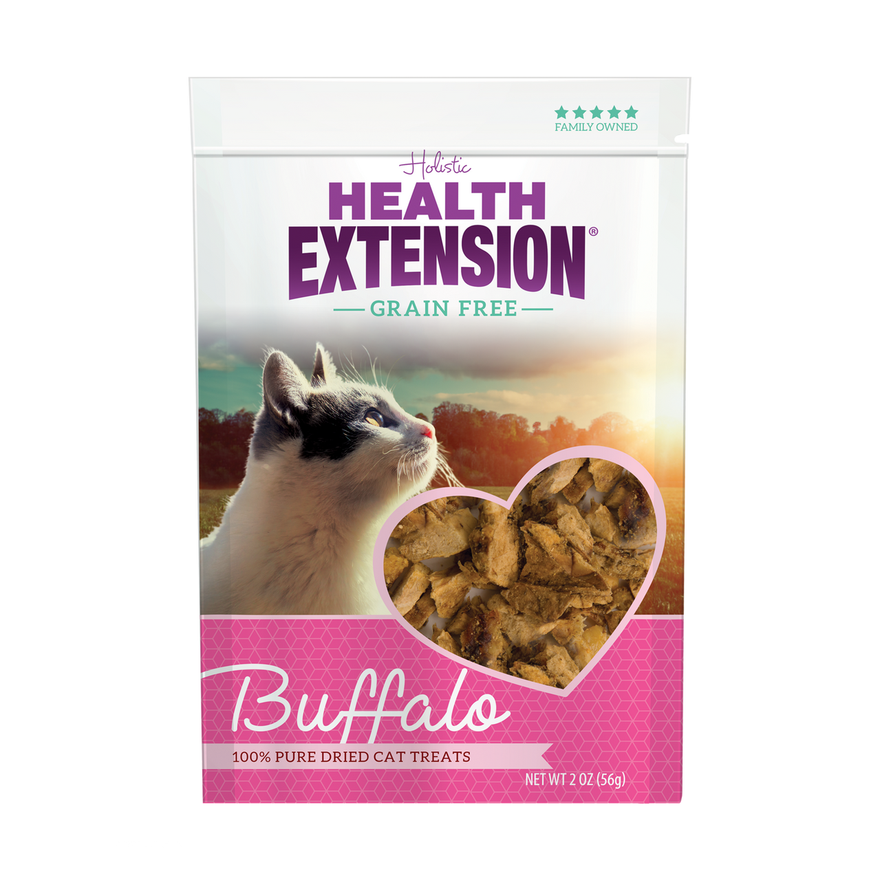 Grain Free Buffalo 100% Pure Dried Cat Treats