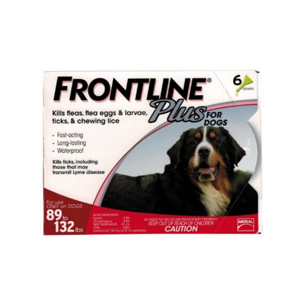 Frontline Plus 89-132lbs (3 Months)