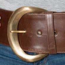 Load image into Gallery viewer, Moon Belt Classic in Brown Leather