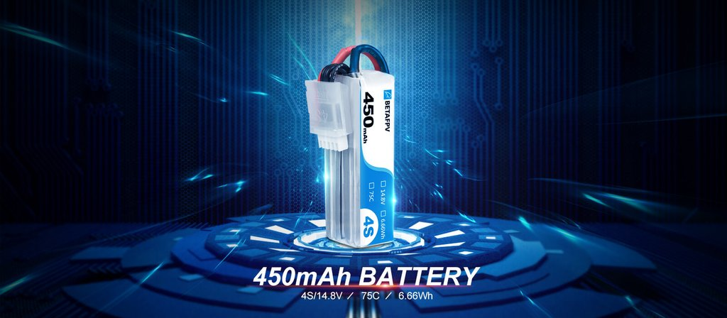 BetaFPV 450mAh 4s Battery