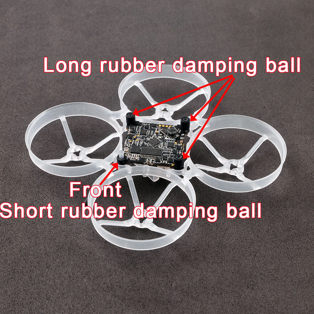 Rubber damping balls for Mobula7/Crazybee F3/Crayzybee F4 flight controller