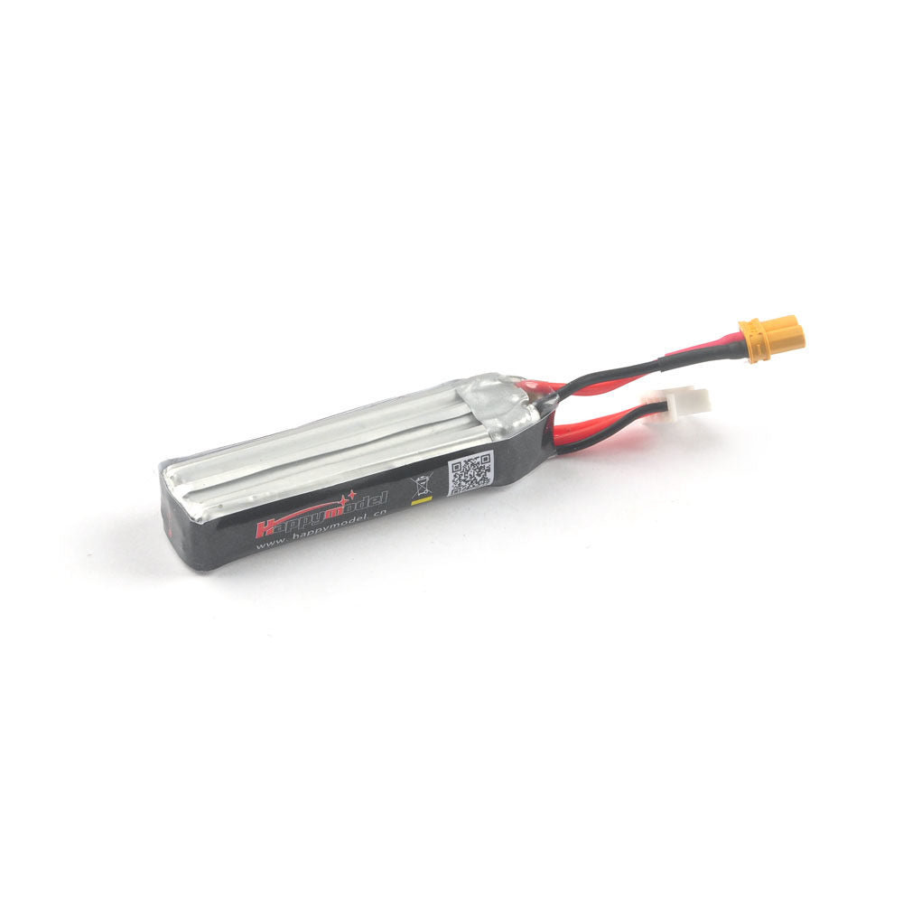 Happymodel 3S 11.4v 300mah LIPO LIHV XT30 connector for Mobula7 HD