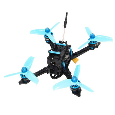 HGLRC XJB-145 145mm Micro FPV Racing Drone - PNP Blue